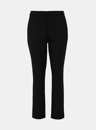Černé zkrácené kalhoty VERO MODA Tia Maya