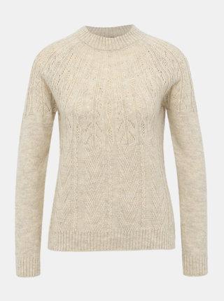 Béžový sveter VERO MODA Chico