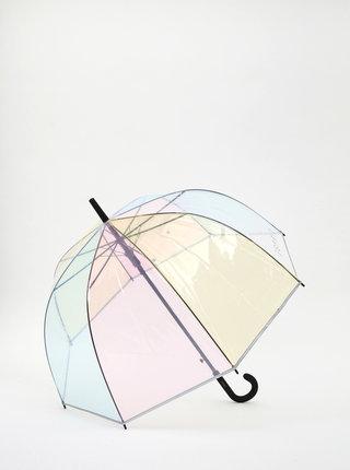 Transparentný vystrelovací dáždnik Esprit