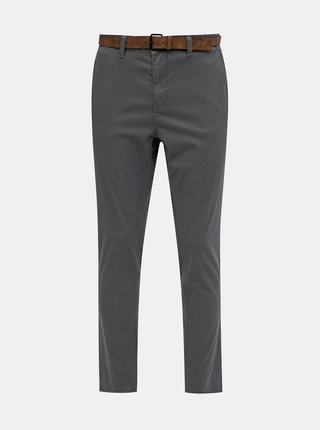 Šedé pánské chino kalhoty Tom Tailor Denim