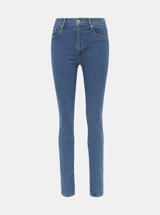 Modré dámské super skinny fit džíny Levi's® Mile