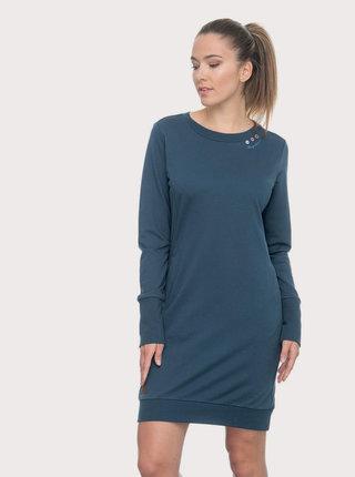Tmavě modré mikinové šaty Ragwear Menita
