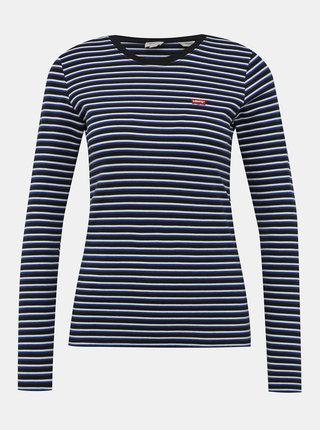 Bielo-modré dámske pruhované tričko Levi's®