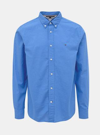 Modrá pánska regular fit košeľa Tommy Hilfiger Classic