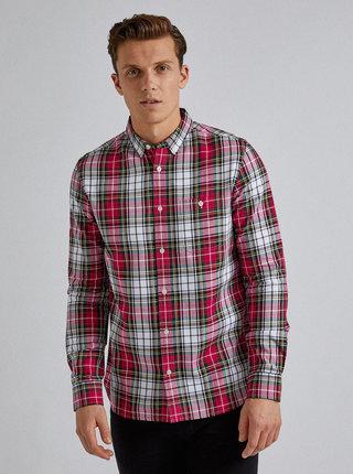 Červená kockovaná košeľa Burton Menswear London