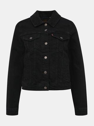 Černá dámská džínová bunda Levi's® Trucker