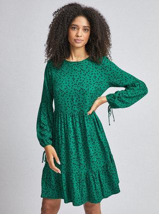 Zelené kvetované šaty Dorothy Perkins