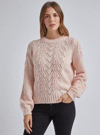 Světle růžový svetr Dorothy Perkins