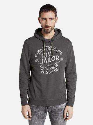 Šedá pánská mikina s potiskem Tom Tailor