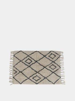 Béžový vzorovaný koberec Sass & Belle Berber