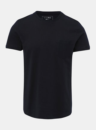 Tmavomodré pánske tričko Tom Tailor Denim