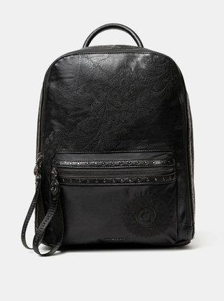 Černý vzorovaný batoh Desigual