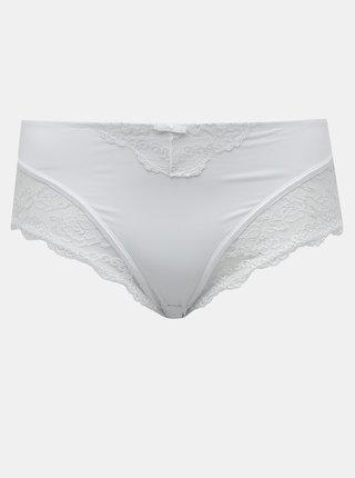 Bílé kalhotky s krajkou M&Co