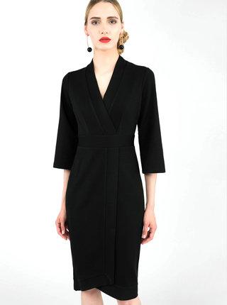 Čierne púzdrové šaty Closet