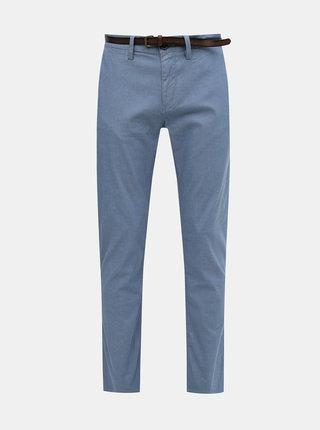 Světle modré pánské chino kalhoty Tom Tailor