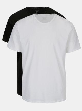 Set alb&negru de doua tricouri modern fit - Calvin Klein Underwear