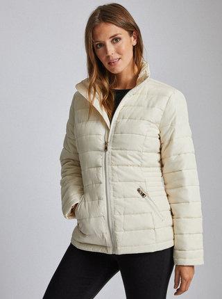 Krémová prešívaná zimná bunda Dorothy Perkins