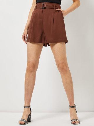 Hnedé šortky Dorothy Perkins