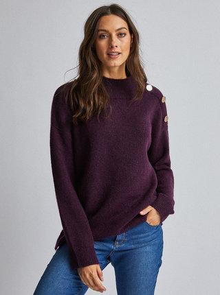 Fialový sveter Dorothy Perkins