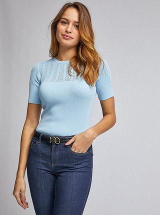 Světle modré svetrové tričko Dorothy Perkins