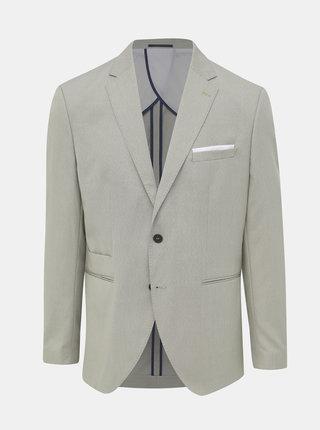 Béžové oblekové slim fit sako Selected Homme Maze Saint