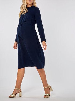 Rochie albastru inchis pentru femei insarcinate Dorothy Perkins Maternity