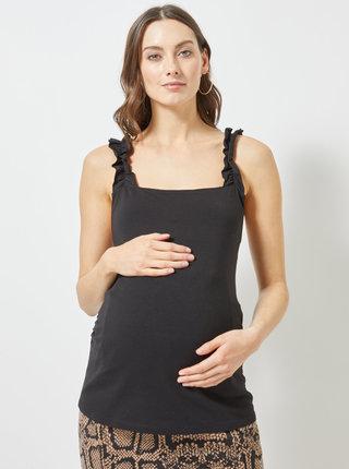 Top negru pentru femei insarcinate Dorothy Perkins Maternity