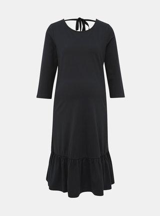 Čierne tehotenské šaty Mama.licious Sasja