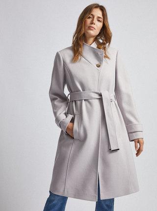 Svetlošedý kabát Dorothy Perkins