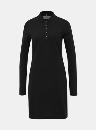Čierne šaty Tommy Hilfiger