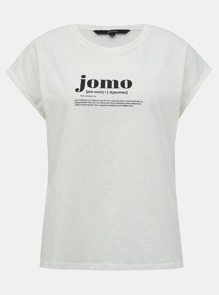 Biele tričko VERO MODA Gillianava