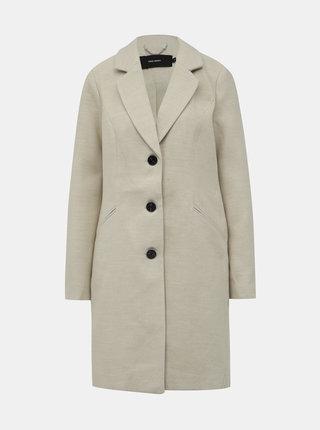 Krémový kabát VERO MODA Calacindy