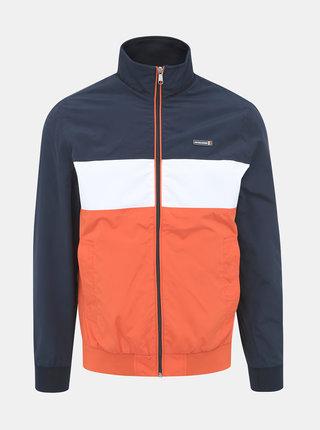 Modro-oranžová bunda Jack & Jones Flint