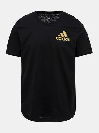 Čierne pánske tričko adidas Performance Sid