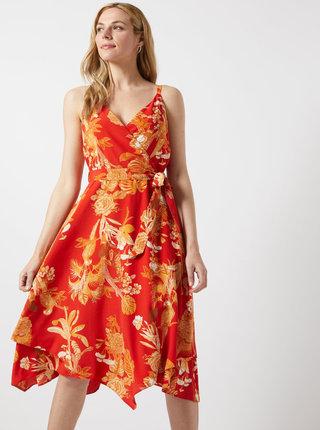 Rochie rosie florala Dorothy Perkins