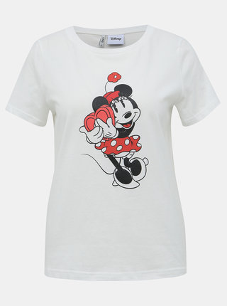 Bílé tričko ONLY Disney
