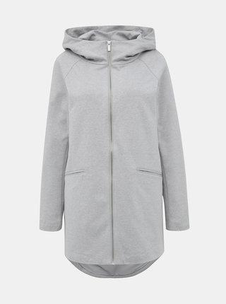 Šedý lehký kabát ONLY Nalaruby