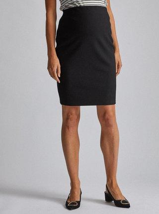 Černá těhotenská vzorovaná sukně Dorothy Perkins Maternity