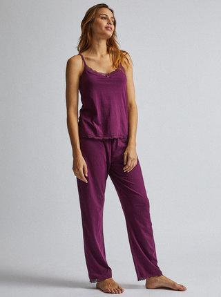 Fialové dvoudílné pyžamo Dorothy Perkins