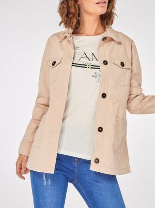 Růžová bunda s kapsami Dorothy Perkins