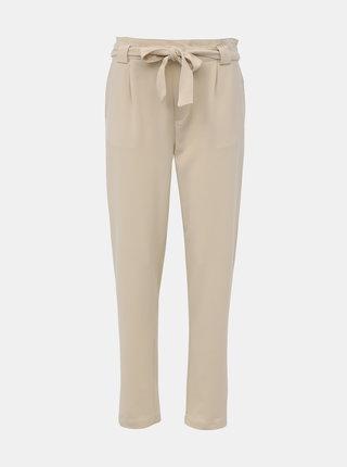 Krémové nohavice Jacqueline de Yong Dakota