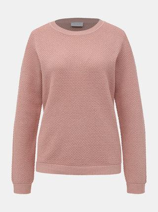 Světle růžový svetr VILA Chassa