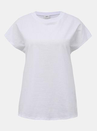 Bílé basic tričko Jacqueline de Yong Lennie