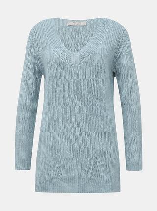 Světle modrý svetr Jacqueline de Yong Dusty