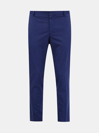 Modré oblekové nohavice Selected Homme Logan