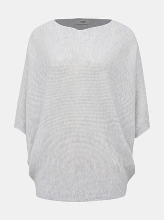 Světle šedý svetr s netopýřími rukávy Jacqueline de Yong New Behave