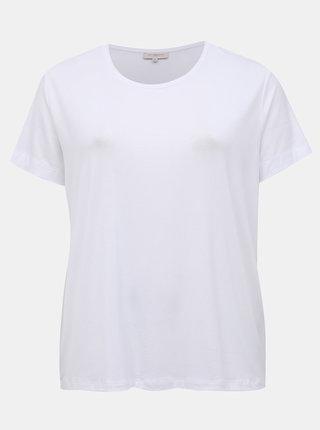 Biele basic tričko ONLY CARMAKOMA