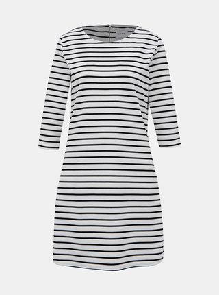 Černo-bílé pruhované šaty ONLY Brilliant