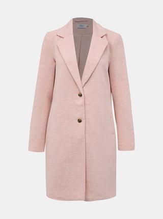 Růžový kabát ONLY Carrie