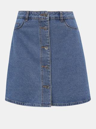 Modrá rifľová sukňa Noisy May Sunny
